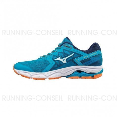 MIZUNO WAVE ULTIMA 10 Femme Hawaiian Ocean/White/Bird of Paradise | Collection Automne Hiver 2018