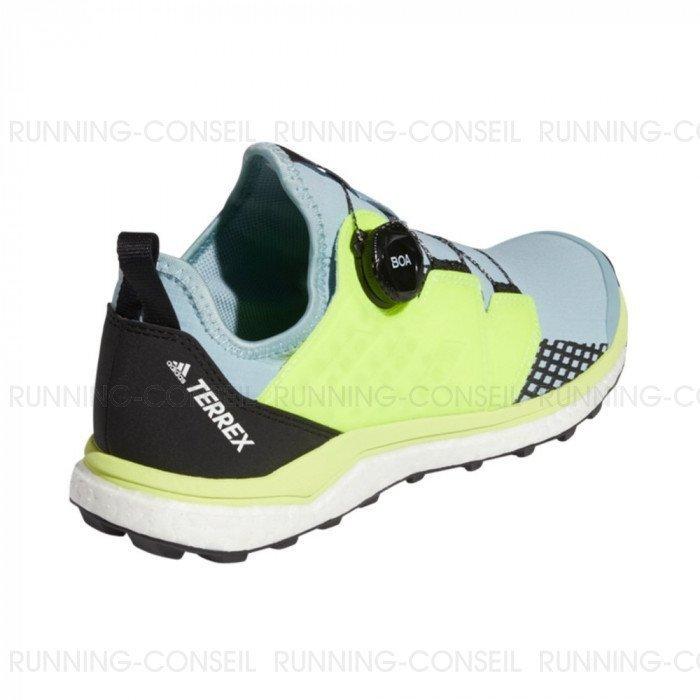 Chaussure de running ADIDAS TERREX AGRAVIC BOA Femme Gris