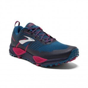 BROOKS CASCADIA 13 Femme Ink/Navy/Pink   Collection Automne Hiver 2018