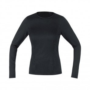 GORE® BASE LAYER MAILLOT MANCHES LONGUES FEMME | BLACK | Collection Printemps-Été 2019