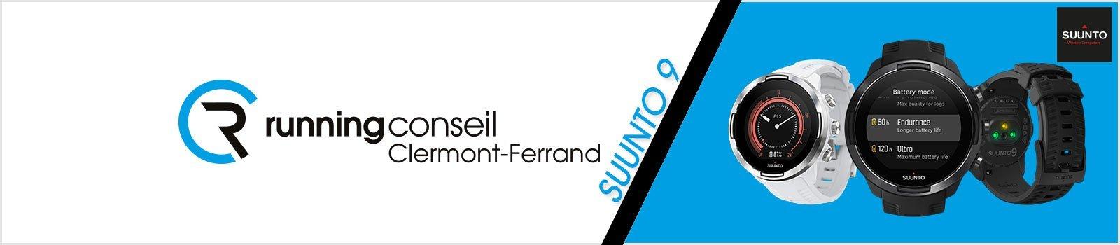 Découvrez la nouvelle montre GPS multisport Suunto 9 dans votre magasin Running Conseil Clermont-Ferrand